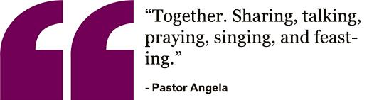 Pastor Angela - Pamoja
