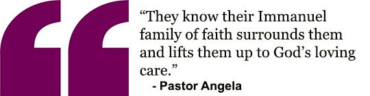 Angela's cross quote