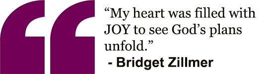 Bridget's Quote