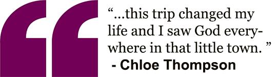 Chloe's quote