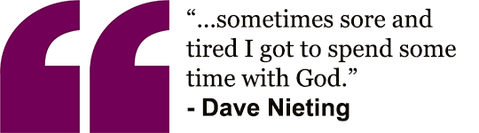 Dave's quote - Take a hike