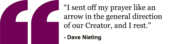 Dave's quote