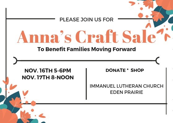 Families Moving Forward - Craft Sale
