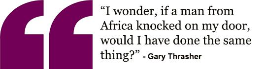 Gary's quote