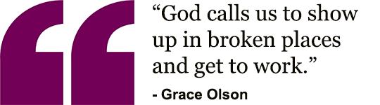 Grace Olson - Quote
