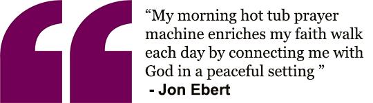 Quote - Hot Tub Prayer Machine