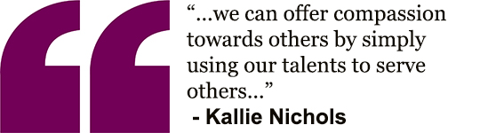 Kallie's quote