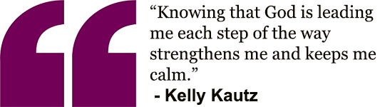 Kelly's quote - step by step