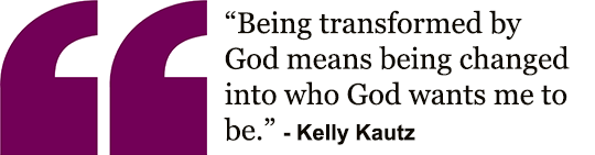 Kelly's Transformation Quote