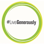 #LiveGenerously