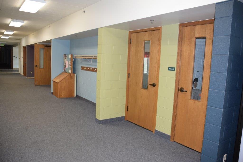 Sunday School Hallway