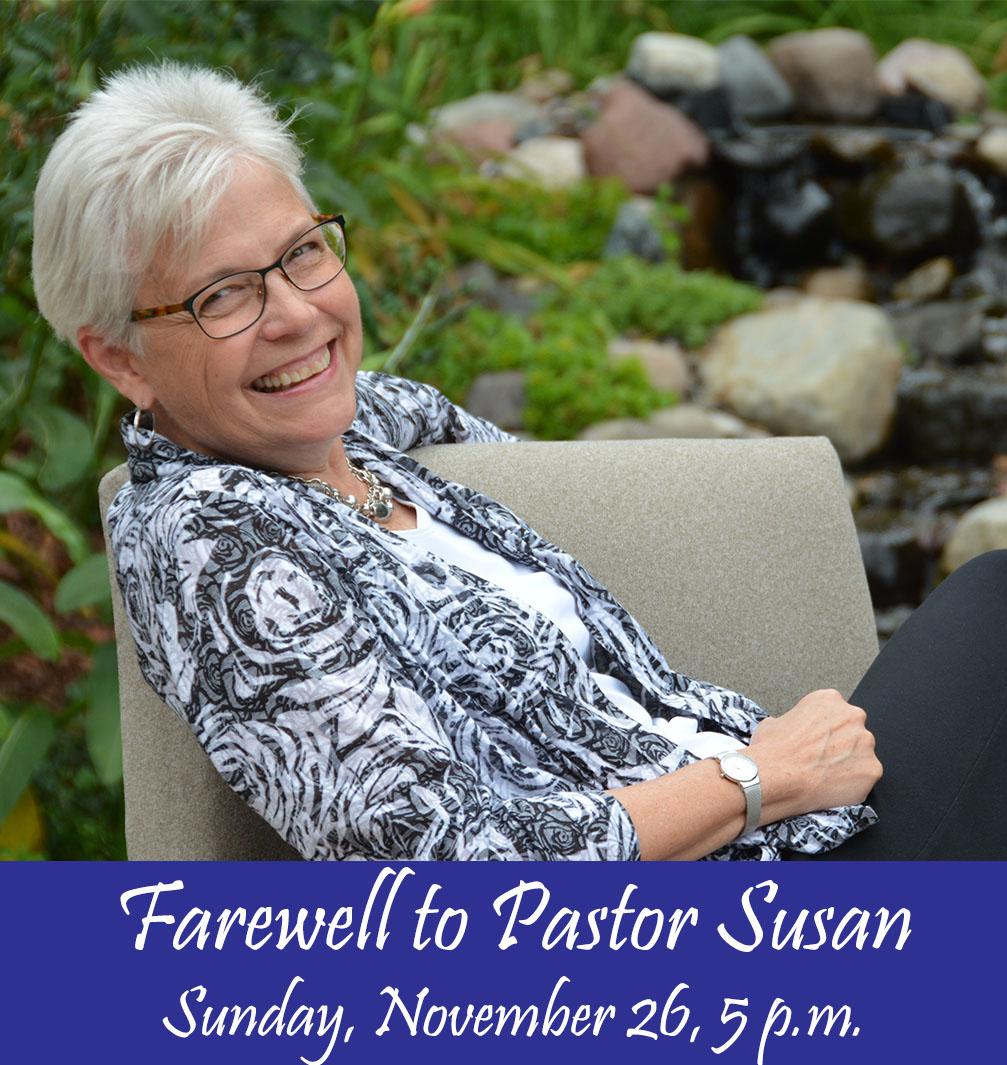 Pastor Susan's Farewell